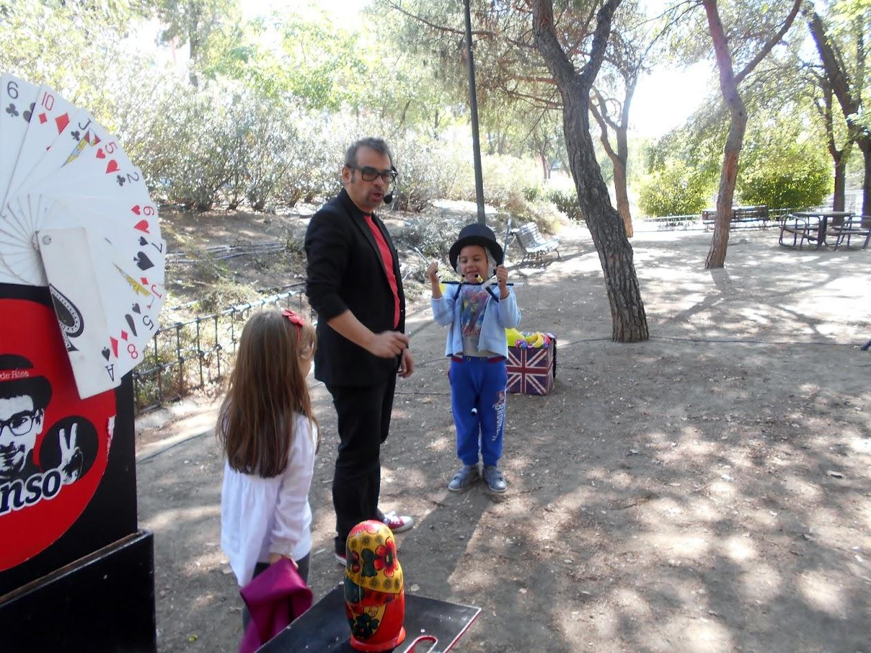 mago para niños en distrito de madrid villaverde 2015