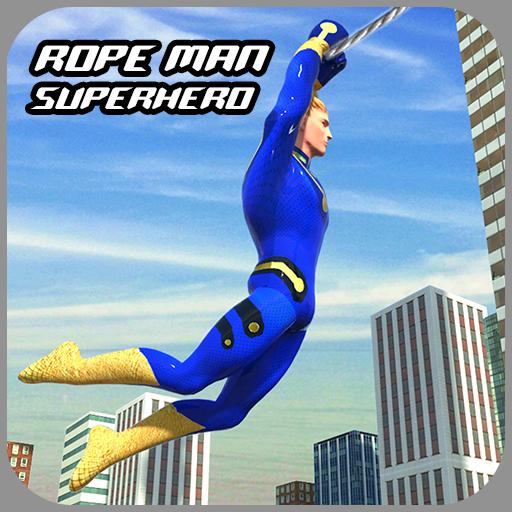 Rope Hero Crime Simulator  Miami Crime City Games