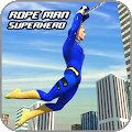 rope hero crime simulator - miami crime city games APK