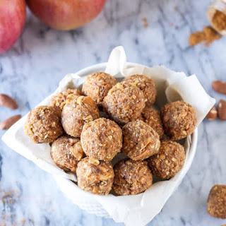 Cinnamon Apple Energy Bites.
