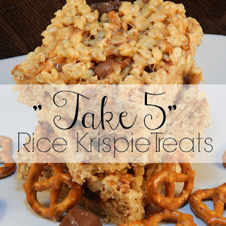 """Take 5″ Rice Krispie Treats"