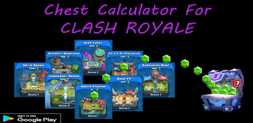 Chest Track Calculator For CR for PC