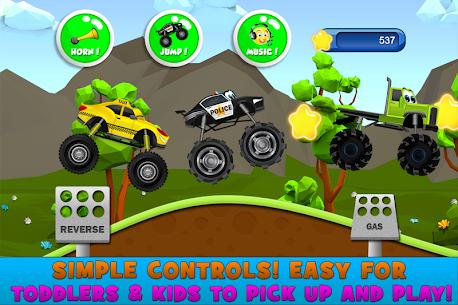 Monster Trucks Game for Kids 2 MOD APK (Unlimited Stars) 5