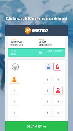 metroturizm online ticket sale screenshot 3