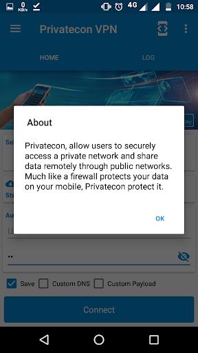 Privatecon VPN screenshot 4