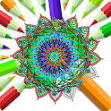 Kids Mandala Coloring Book : Color Me icon