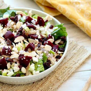 Beets Me Shredded Chicken Salad.