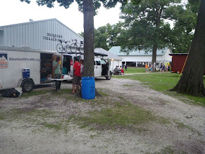 Photo: redneck festival campsite