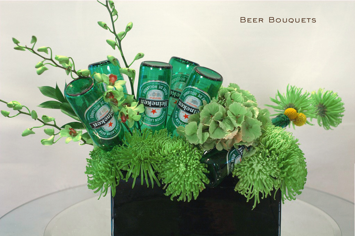 beer bouquets selling
