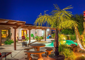 Tucson backyard patio pool image