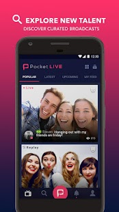PocketLive - live streaming- screenshot thumbnail