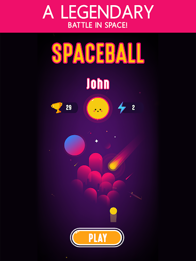Space Ball - Defend And Score screenshot 8