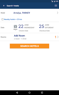 Aerobilet - Flights, hotels- screenshot thumbnail
