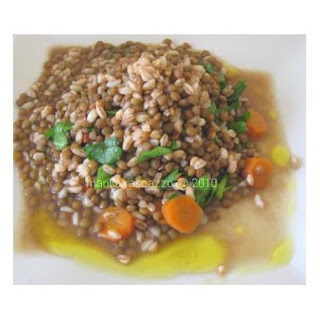 Lentils With Orzo.