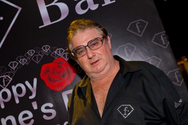Photo: Michel Adam at the opening of Love F Bar, Bangkok