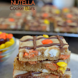Peanut Butter Nutella Cookie Bars