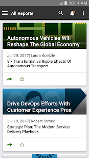 Forrester Insights- screenshot thumbnail