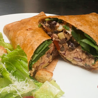 Southwest Chipotle Chicken Salad Wrap.