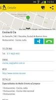 Screenshot of Paginas Amarillas Argentina