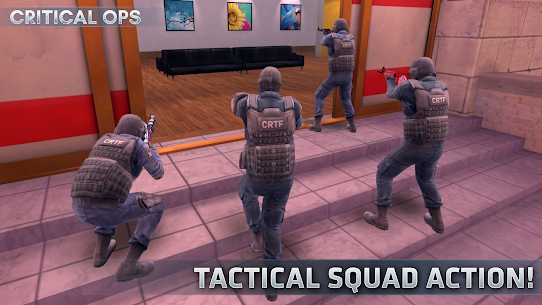 Critical Ops (Mod, Unlimited Bullets) 7