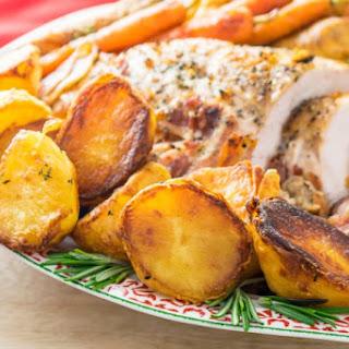 Perfect Roast Potatoes.