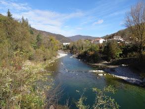 Photo: rijeka Soča u mjestu Kanal