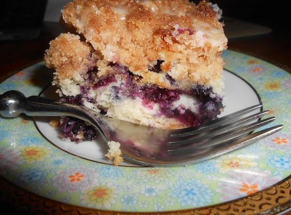 Ellen's Smokin' Blueberry Coffee Cake Recipe