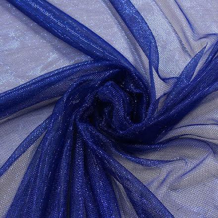 Glitternät - blå