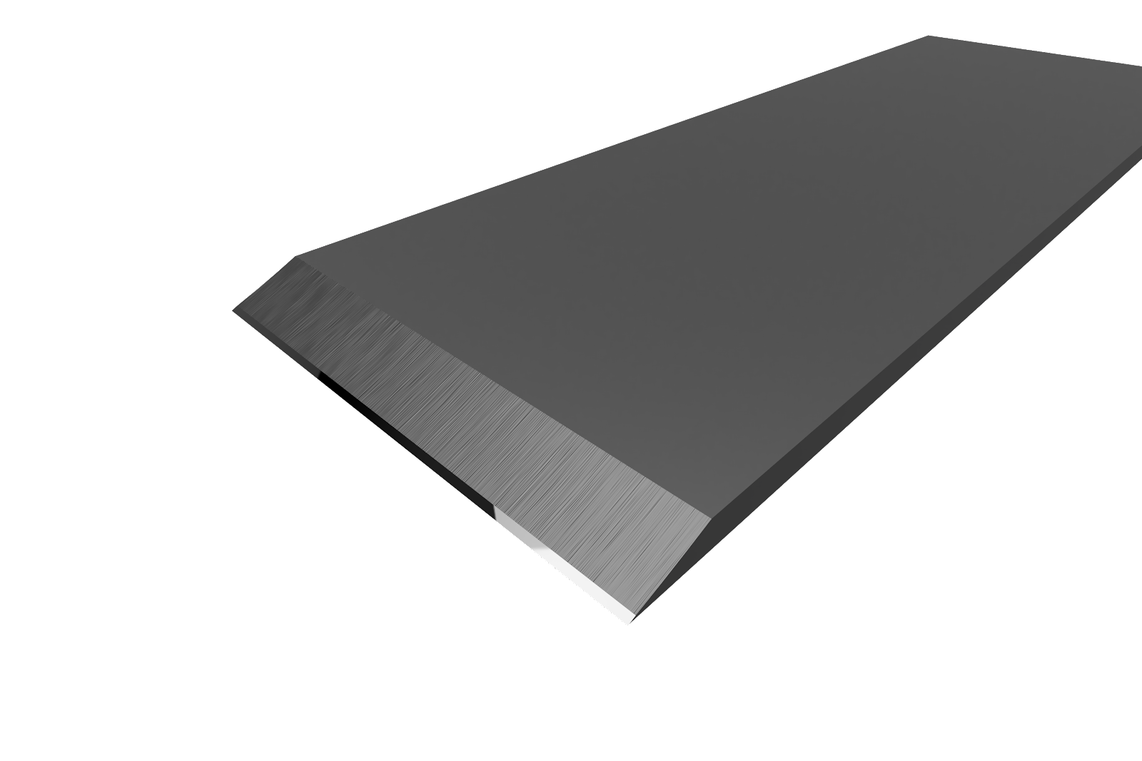 Hollow ground plane blade with micro bevel