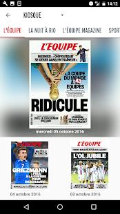 L'Equipe.fr : foot, rugby Screenshot 2