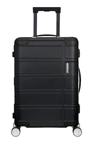 American Tourister Alumo Black 55cm