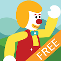 Clown Land Adventure Free icon