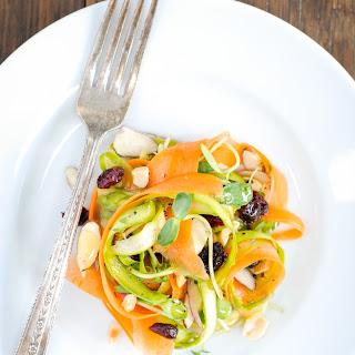 Asparagus and Carrot Ribbon Salad
