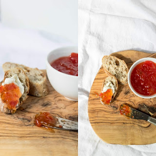 Red Pepper and Chili Jam