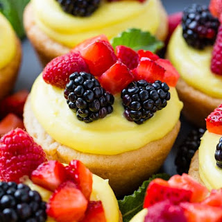 Sugar Cookie Lemon Fruit Cups Recipe
