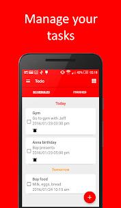 Todo Reminder Pro + Widget Aplicaciones para Android screenshot