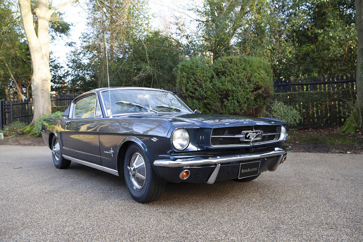 Ford Mustang Fastback Hire Oxted