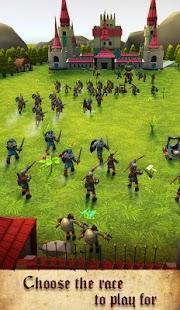 Epic Titan Army Castle Siege Battle - náhled