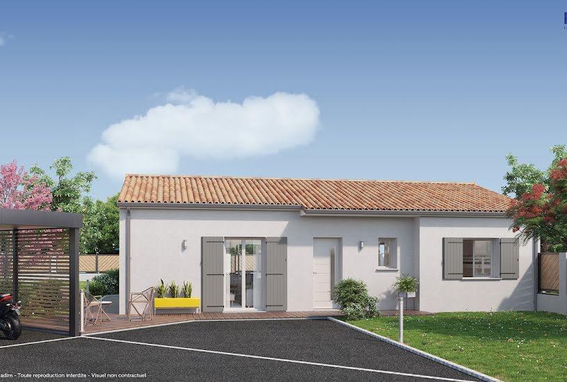 Vente Terrain + Maison - Terrain : 650m² - Maison : 82m² à Anglade (33390)