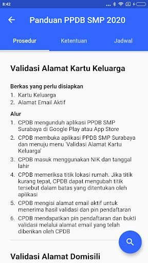 PPDB SMP Surabaya  screenshots 3
