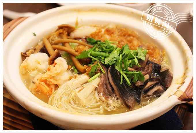 貳哥食堂 蘭陽海鮮西魯鍋(小)$300