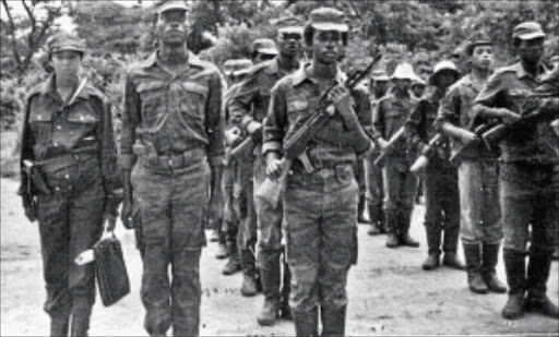 After the ANC was banned in 1960 thousands of its members went into exile, joining its military wing Umkhonto weSizwe in camps in several African countries.