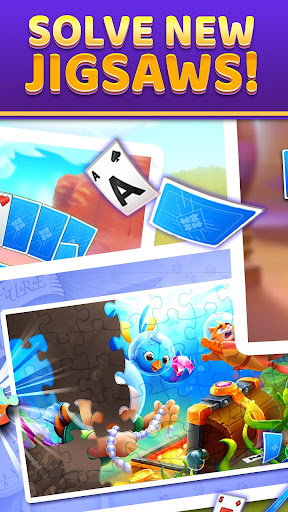 Puzzle Solitaire - Tripeaks Escape with Friends android2mod screenshots 2