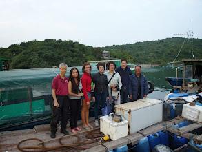 Photo: A visit to Mr. & Mrs. Shek's boat house