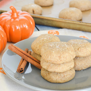 Pumpkin Spice Brown Butter Sea Salt Cookies