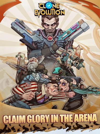 Clone Evolution: Cyber War-Borderlands Fantasy 1.4.9 screenshots 11