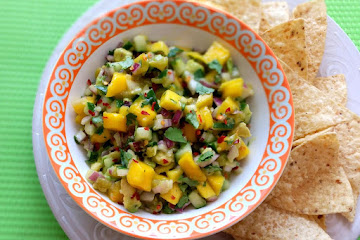 Mango, Avocado And Cucumber Salsa Recipe