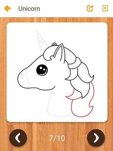 Kawaii Easy Drawing : How to draw Step by Step  screenshots 16