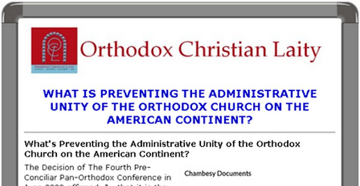 INTERESTING AND ENLIGHTENING RESPONSES TO THE SURVEY ON OBSTACLES TO AN ADMINISTRATIVELY UNITED ORTHODOX CHURCH OF AMERICA