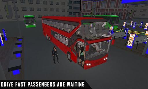mobile bus driving sim 2018 - tourist coach drive 1.1 screenshots 2